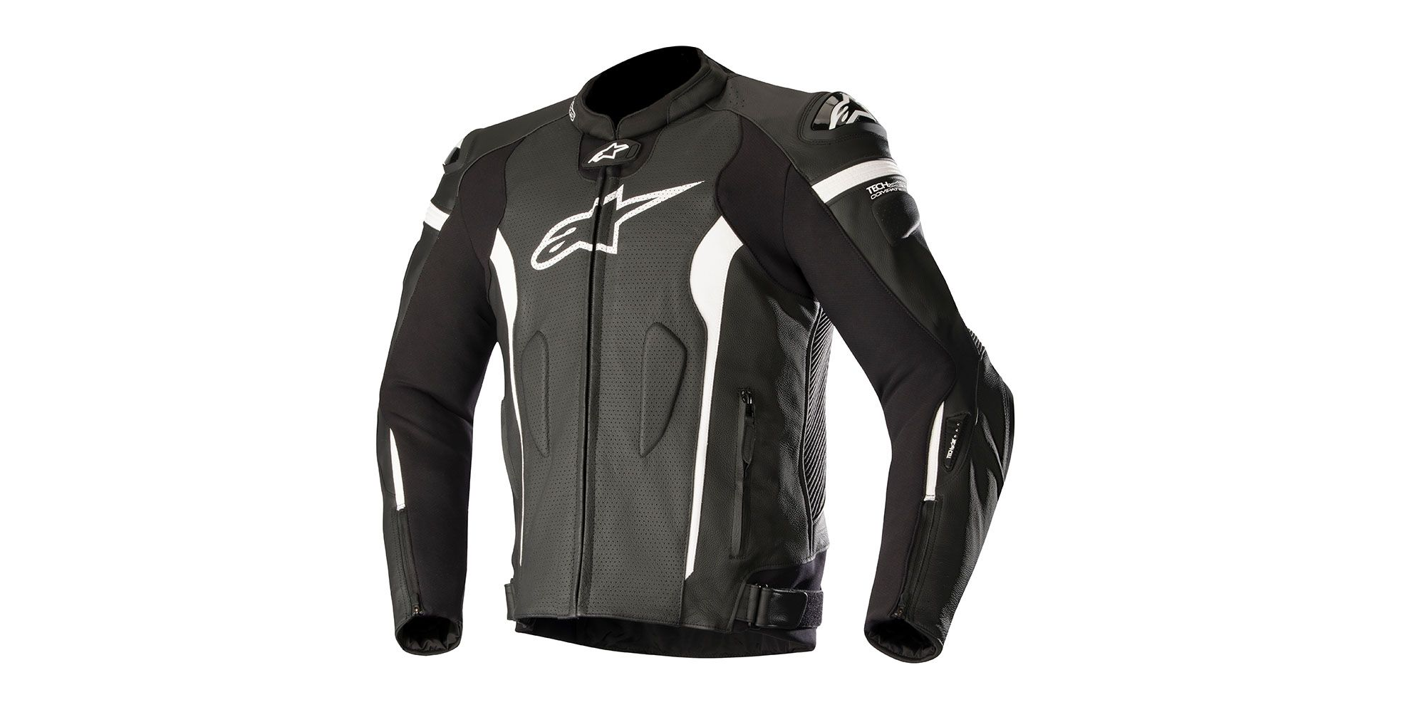 Alpinestars Leather Jacket >> Alpinestars Missile Leather Jacket Tech Air Compatible